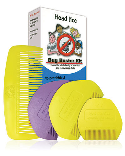 Bug Buster Kit Centre with Combs - 400x500pxl
